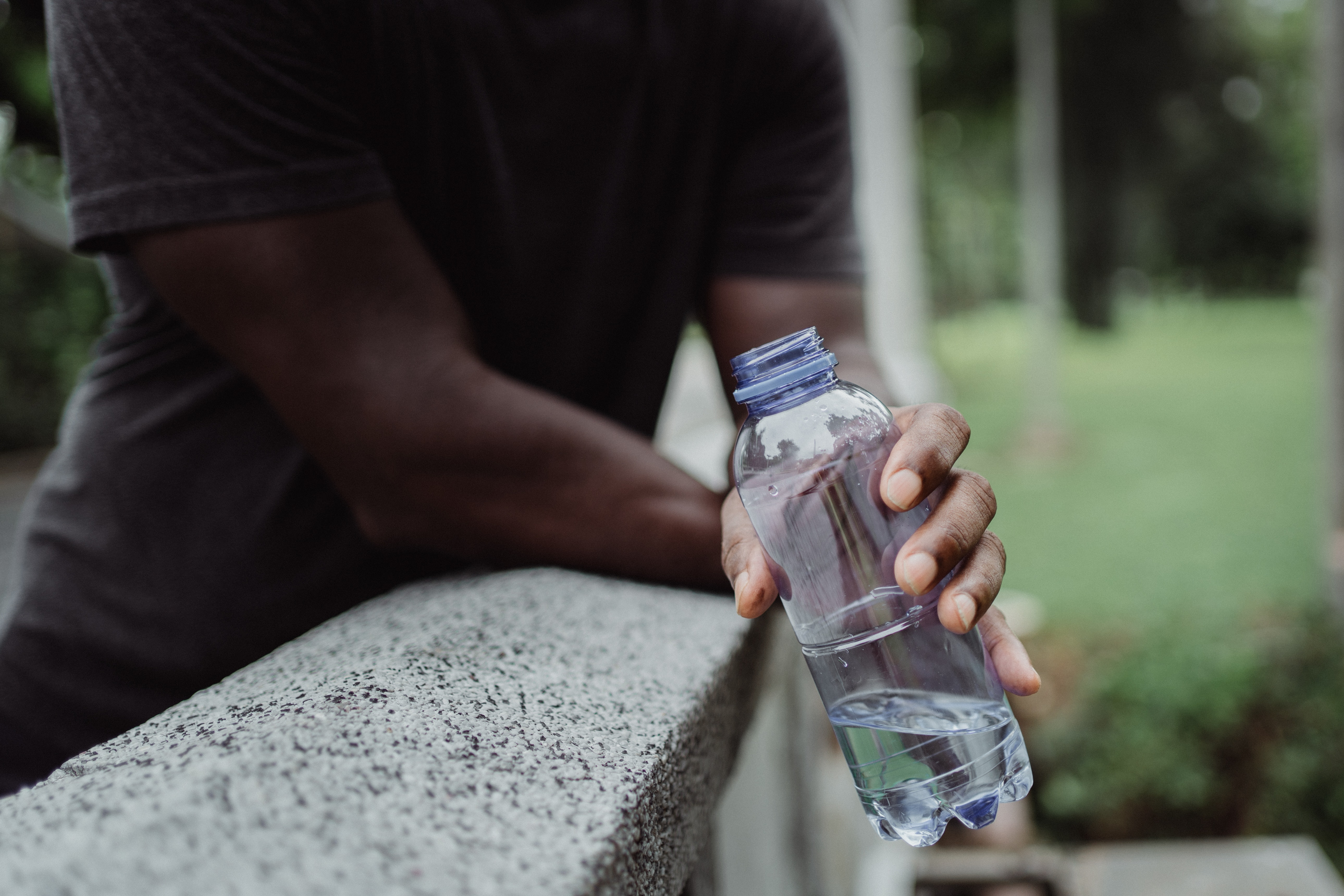 Stay hydrated, drink lots of water