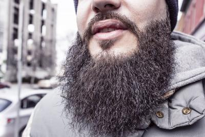 Clean your beard